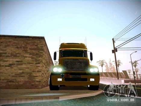 Freightliner Century Classic para GTA San Andreas vista interior