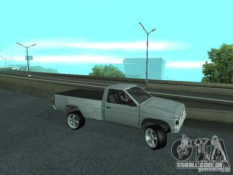 Nissan Pick-up D21 para vista lateral GTA San Andreas