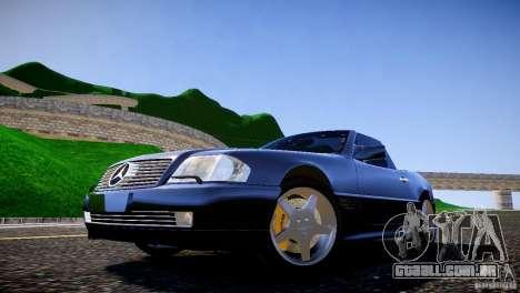Mercedes SL 500 AMG 1995 para GTA 4 vista de volta