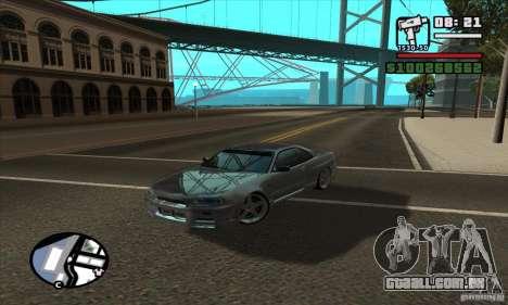 Enb Series HD v2 para GTA San Andreas quinto tela
