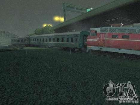 Interruptor rail shooter para GTA San Andreas por diante tela