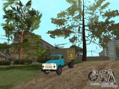 GAZ 52 para GTA San Andreas vista interior