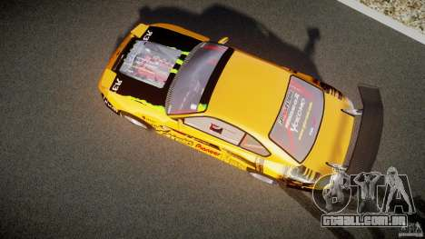 Nissan S330SX GT Drift Texture para GTA 4 vista interior