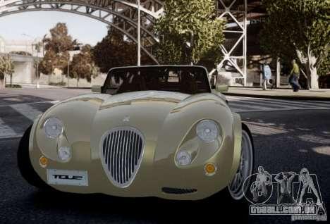 Wiesmann MF3 Roadster Final para GTA 4 vista interior