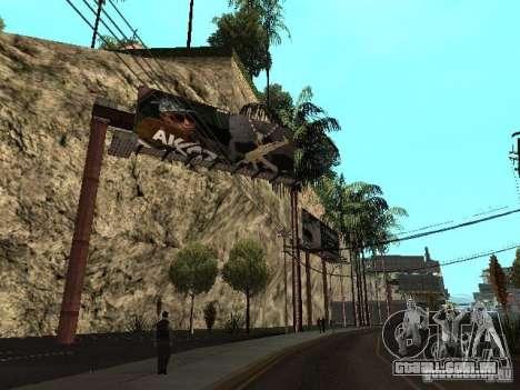 Rep trimestre v1 para GTA San Andreas por diante tela