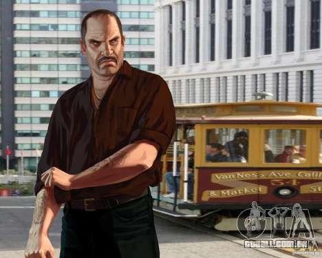 Tela de boot em San Francisco para GTA 4 terceira tela