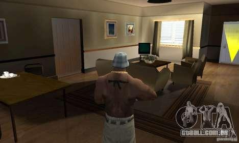 CJ Total House Remode para GTA San Andreas segunda tela
