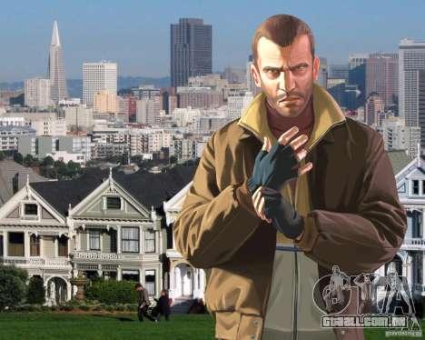 Tela de boot em San Francisco para GTA 4 por diante tela