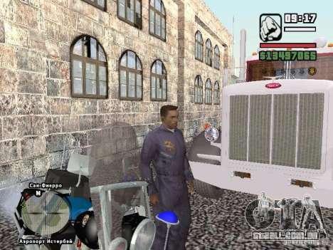 Helmet mod para GTA San Andreas quinto tela