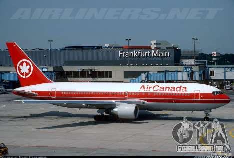 Boeing 767 de telas de carregamento para GTA San Andreas sexta tela