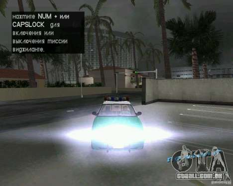 Ford Crown Victoria 2003 Police para GTA Vice City vista lateral