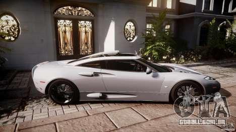 Spyker C8 Aileron v1.0 para GTA 4 traseira esquerda vista