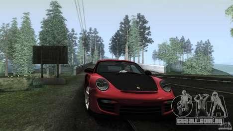 Porsche 911 GT2 RS 2012 para GTA San Andreas interior