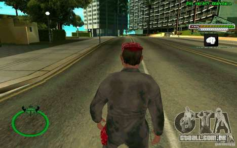 Mechanik HD Skin para GTA San Andreas terceira tela