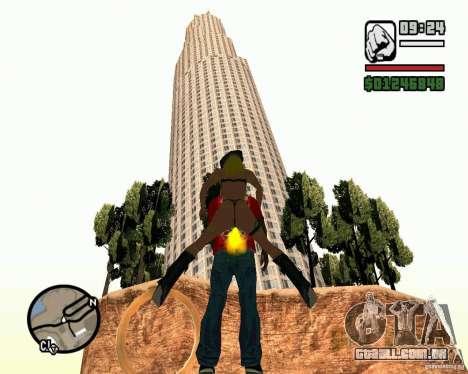 A torre inclinada de Pisa para GTA San Andreas terceira tela