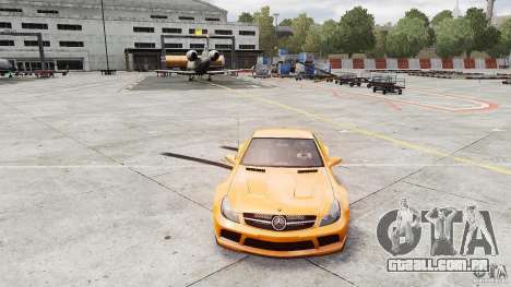 Mercedes-Benz SL65 AMG Black Series 2009 [EPM] para GTA 4 vista direita