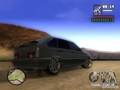 ВАЗ 2114 Tuning para GTA San Andreas vista direita