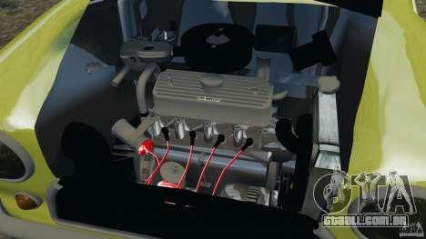 Mini Cooper para GTA 4 vista interior
