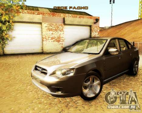 Subaru Legacy 3.0 R tuning para GTA San Andreas vista direita