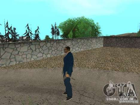 CJ Mafia Skin para GTA San Andreas sétima tela