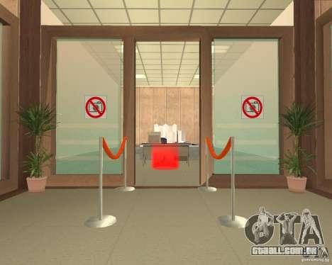 Banco em Los Santos para GTA San Andreas terceira tela