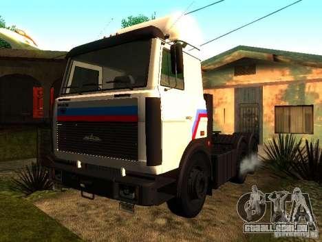 MAZ 642205 v 1.0 para GTA San Andreas