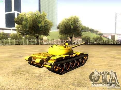 Type 59 v1 para GTA San Andreas esquerda vista