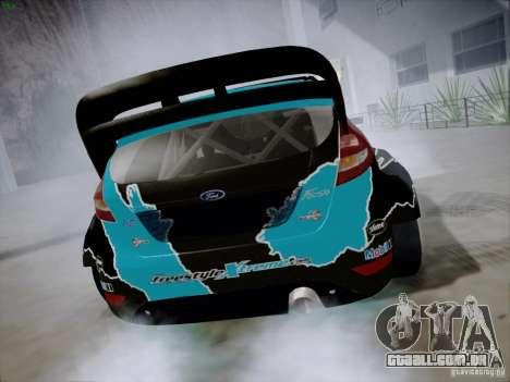 Ford Fiesta RS para GTA San Andreas vista direita