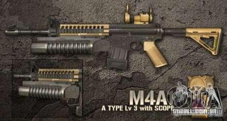 [Point Blank] M4A1 para GTA San Andreas