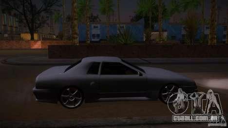 Elegy Drift para GTA San Andreas esquerda vista