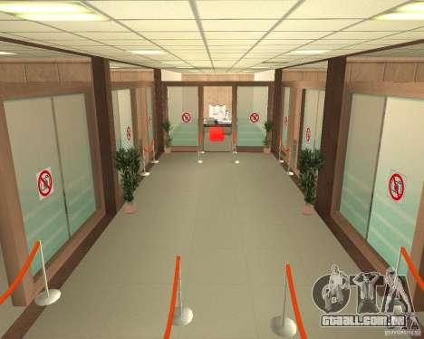 Banco em Los Santos para GTA San Andreas segunda tela