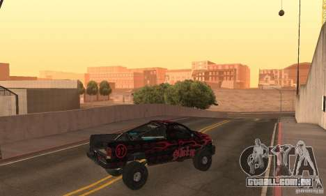 Dodge Power Wagon Paintjobs Pack 1 para GTA San Andreas traseira esquerda vista