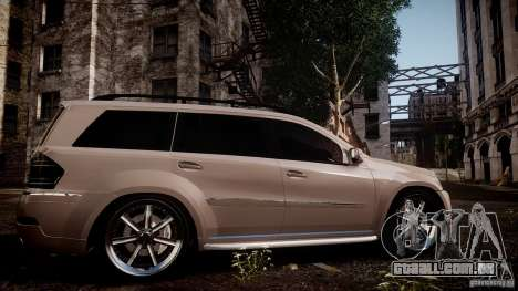 Mercedes-Benz GL450 Brabus Black Edition para GTA 4 esquerda vista