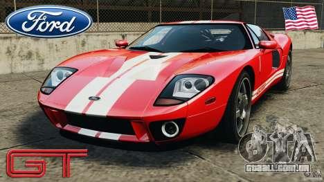Ford GT 2005 v1.0 para GTA 4