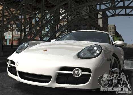 Porsche Cayman S1 para GTA 4 vista de volta