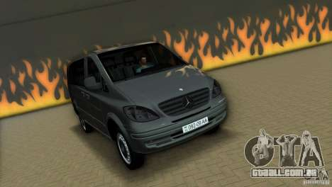 Mercedes-Benz Vito 2007 para GTA Vice City