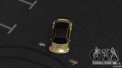 BMW E92 M3 para GTA San Andreas vista direita