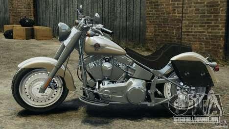 Harley Davidson Softail Fat Boy 2013 v1.0 para GTA 4 esquerda vista