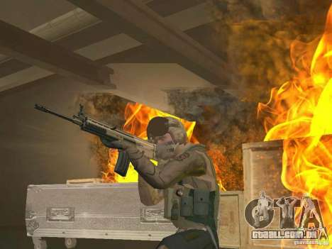 Piloto militar para GTA San Andreas segunda tela