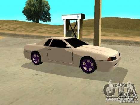 New Elegy v.1 para GTA San Andreas vista traseira