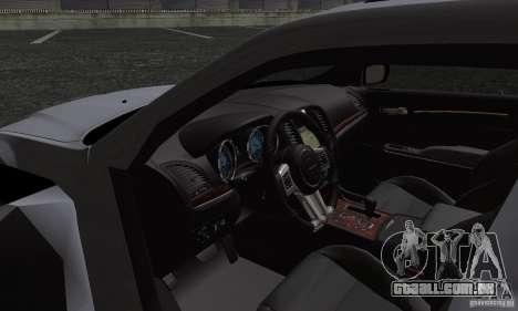 Chrysler 300c para vista lateral GTA San Andreas