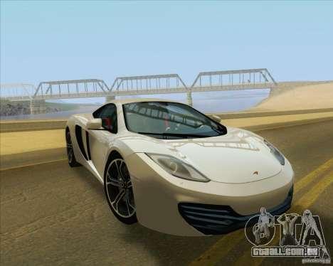 New Playable ENB Series para GTA San Andreas por diante tela