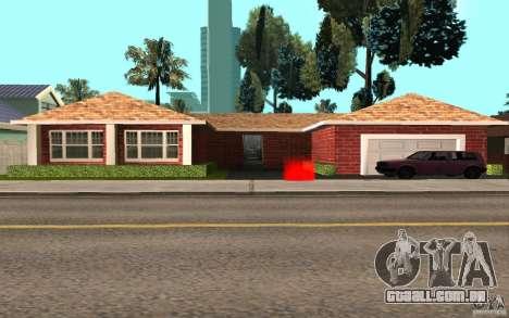 Novas texturas para casa Millie para GTA San Andreas segunda tela