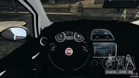 Fiat Punto Evo Sport 2012 v1.0 [RIV] para GTA 4 interior