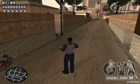 HUD by Neo40131 para GTA San Andreas segunda tela