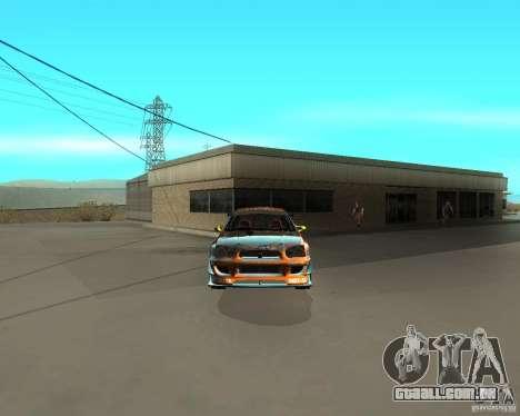 Subaru Impreza WRX Team Orange DRIFT SA-MP para GTA San Andreas vista direita