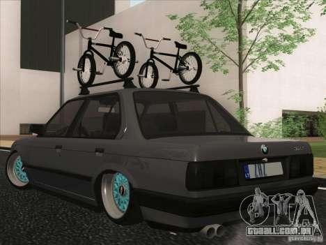 BMW E30 Rat para GTA San Andreas vista direita
