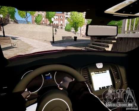 Chrysler 300 SRT8 DUB 2012 para GTA 4 traseira esquerda vista
