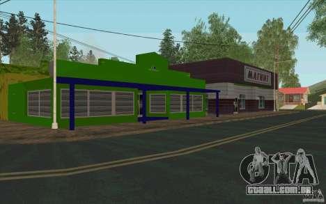 Uma aldeia nova Dillimur para GTA San Andreas nono tela