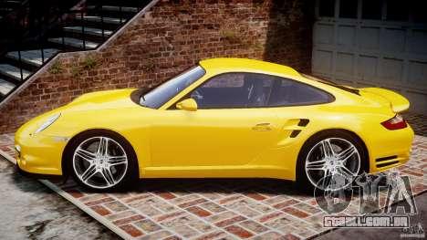 Porsche 911 (997) Turbo v1.0 para GTA 4 esquerda vista